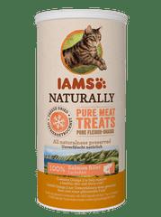 IAMS Naturally Cat Freeze priboljšek za odrasle mačke, posušeni losos, 20 g