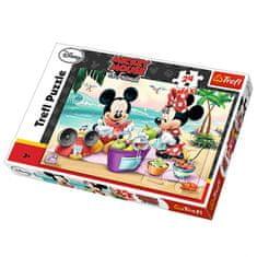 Trefl sestavljanka Maxi Mickey, 24 kosov