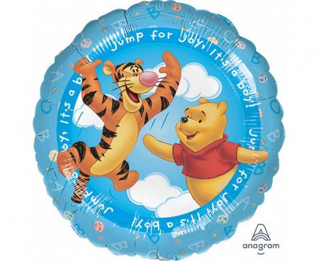 """Anagram Folijski balon 17"""" Winnie the Pooh - It's a Boy"""
