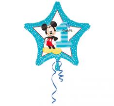 "Anagram Balon foliowy 17"" Mickey 1st Narodeniny"