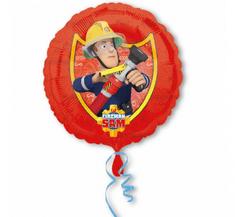 """Anagram Fóliový balón 17"""" - """"Požárnik Sam"""""""