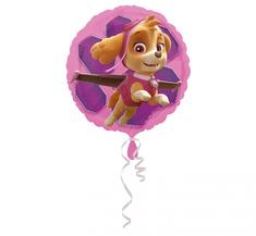 "Anagram Fóliový balón 17"" Paw Patrol Pink Skye & Everest"
