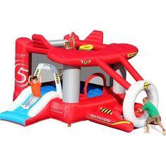 Happy Hop Letadlo hrací centrum Letadlo. Happy Hop nafukovací skákadlo Airplane, skákací hrad