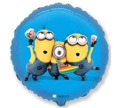 Fóliový balónek Party MIMONI - MINIONS - 45 cm
