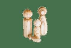 Figurky (rodinka ze dřeva)