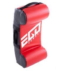 Ego Combat Velká lapa Hook-upper-knee. HUK1. červená/černá barva