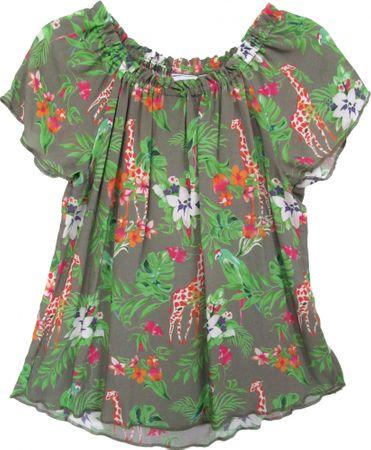 Topo tunika dziewczęca 98, zielona