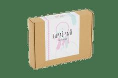 Sada na výrobu Lapače snů (růžovo - mintová)