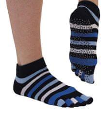 TOETOE Dámské YOGA & PILATES prstové protiskluzové ponožky na cvičení