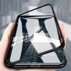 MG Magnetic Full Body ovitek za iPhone XS Max črna/transparent