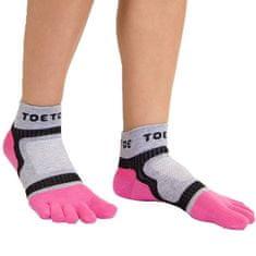 TOETOE Dámské i pánské bavlněné sportovní prstové ponožky