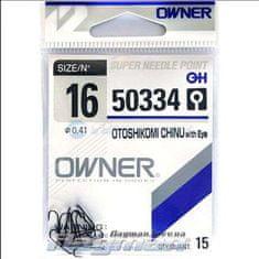 Owner Rybářské háčky Owner s očkem 50334