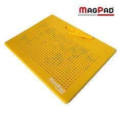 MagPad Magnetická kreslící tabulka Magpad Big 714 kuliček - Žlutá