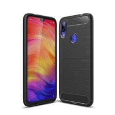 MG Carbon Case Flexible TPU szilikon tok Xiaomi Redmi Note 7, fekete
