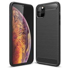 MG Carbon Flexible szilikon tok iPhone 11, fekete