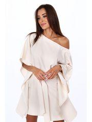 Amando Oversize šaty 0226 béžové