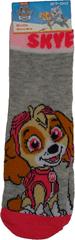FOOT Ponožky tlapková patrola dívčí, šedé.