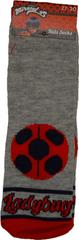 Miraculous Ladybug Ponožky kouzelná beruška šedá.