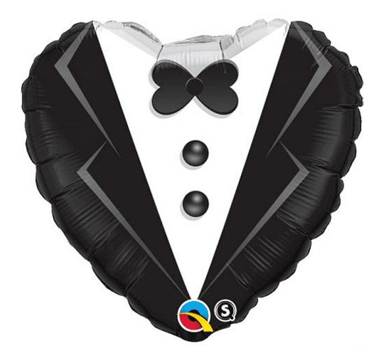 """Qualatex Fóliový balón 18"""" """"Ženích"""""""