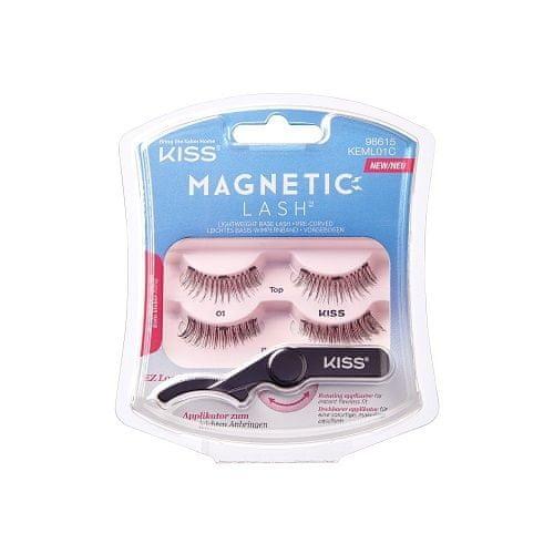 KISS Magnetické riasy Magnetic Lash 1 pár (Varianta 01)