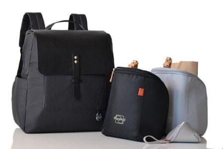 PacaPod HASTING PACK fekete - pelenkázó hátizsák