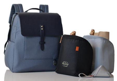 PacaPod HASTING PACK sötétkék - pelenkázó hátizsák