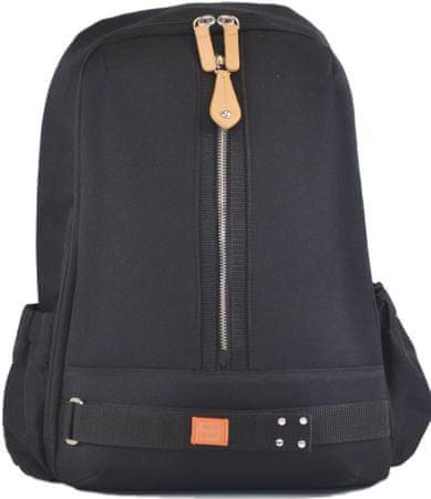 PacaPod PICOS fekete - pelenkázó hátizsák