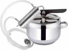 Browin Nerezový destilační přístroj + tlakový hrnec 2v1, chladič