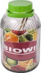 Browin Nakládací nádoba na zelí a okurky 5l sklo + kleště