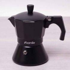 kamille Kávovar Espresso 150 ml AL černý