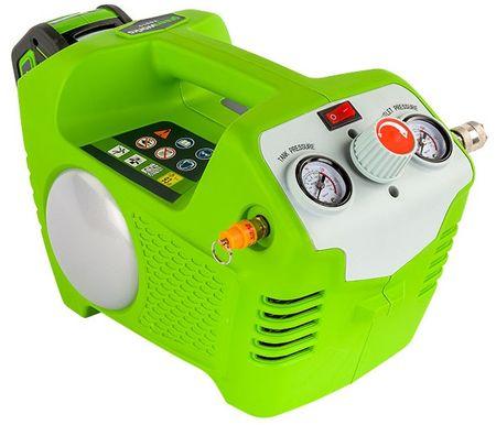 Greenworks Akkumulátoros légnyomású kompresszor G40AC 40 V