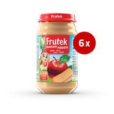 Fructal Frutek otroška kaša, piškoti in jabolko, 6 x 190 g