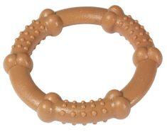 Karlie hračka pro psy kousací kruh slaninový 12 cm