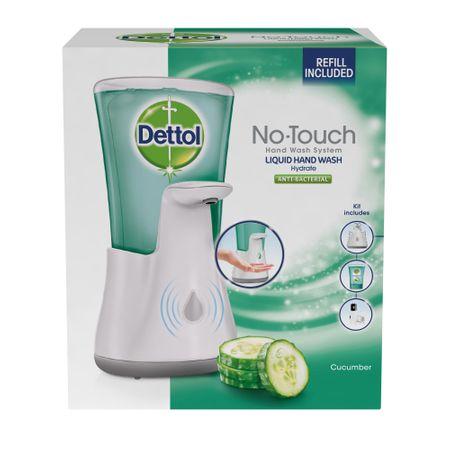 Dettol Uborka érintésmentes szappan adagoló 250 ml