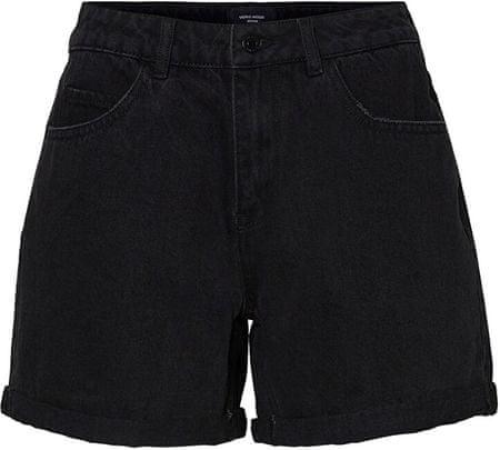 Vero Moda Ženske kratke hlače VMNINETEEN 10210384 Black (Velikost XS)