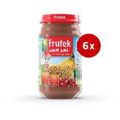 Fructal Frutek otroška kaša, sadje in ajda, 6 x 190 g