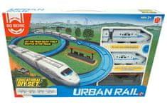 Unika Urban Rail set, vlak + tračnice, na baterije