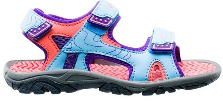 HI-TEC sandały dziewczęce MENAR JRG 924, 32 różowe/niebieskie
