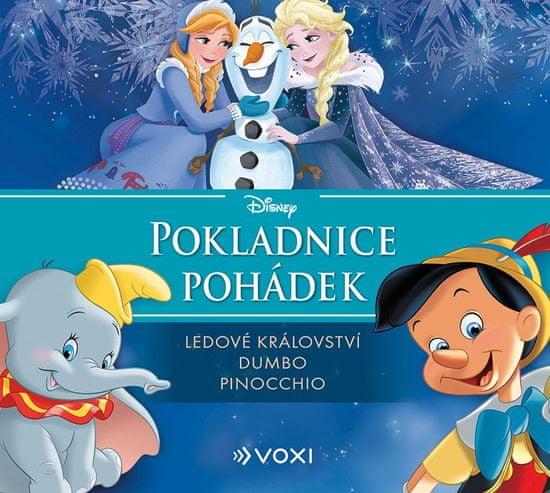 kolektiv: Pokladnice pohádek Disney - Ledové království, Dumbo, Pinocchio - CD