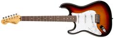 Vintage LV6SSB Ľavoruká elektrická gitara