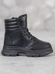 Stylomat Černé boty fashion