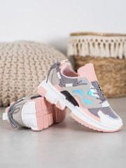 Stylomat Stylové sneakersy s holo efektem