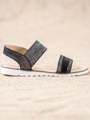 Filippo Nazouvací sandálky s brokátem