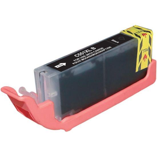Printwell 6443B001 (551 XL (CLI-551 XL)) Canon kompatibilní inkoustová cartridge barva černá/black