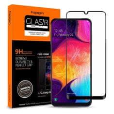 Spigen Full Cover ochranné sklo pre Samsung Galaxy A40, čierne