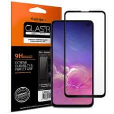 Spigen Full Cover ochranné sklo na Samsung S10e, čierne
