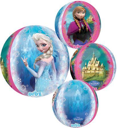 """Folijski balon 15x16"""" - Frozen 38x40cm"""