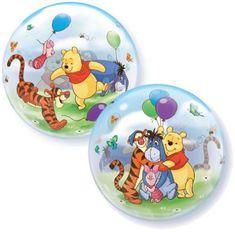 "Qualatex Fóliový balón 22"" - Medvídek Pů 56cm"