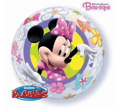 """Qualatex Fóliový balón 22"""" - Minnie mouse 56cm"""