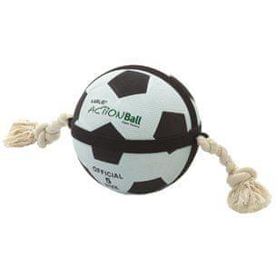 Karlie labda fehér/fekete, 22 cm